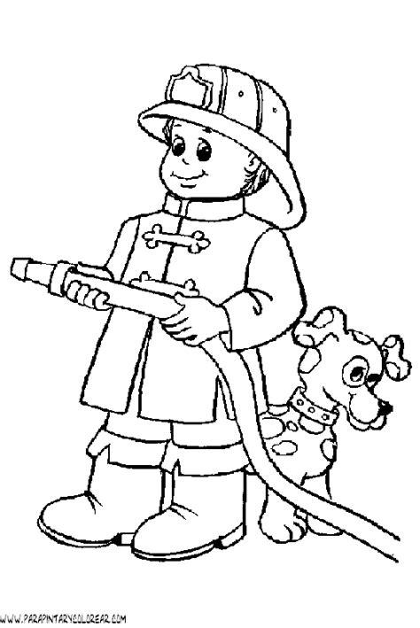 dibujos de servidores pblicos para colorear dia del bombero para colorear imagui
