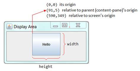java swing button size gui programming part 2 java programming tutorial