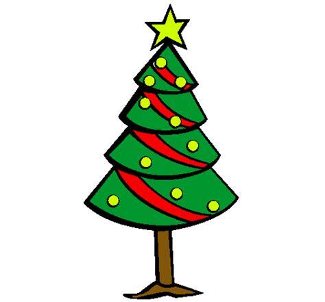 arbol navidad dibujo dibujo de 193 rbol de navidad ii pintado por navidad en