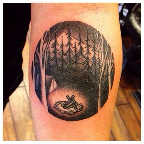 camping tattoos pinterest camping tattoo camping