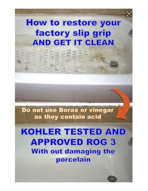 17 Best Images About Bathtub Cleaning Safe Step Dirty