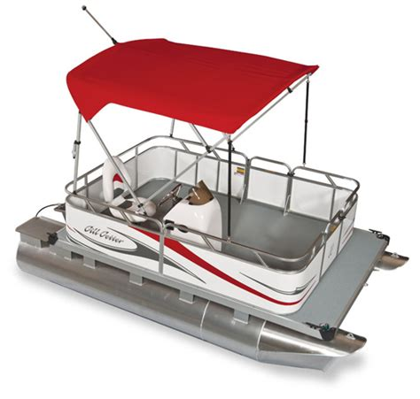 small pontoon electric boats gillgetter pontoons ohio mini compact pontoon boat dealer