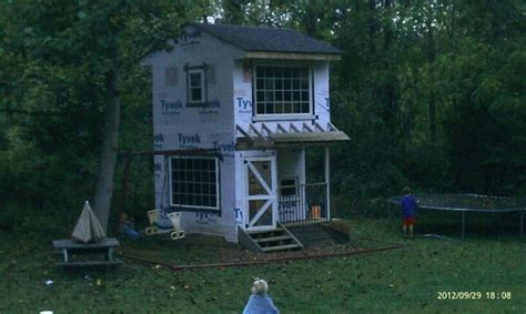 story playhouse  swingset attached play house
