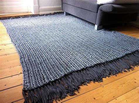 Textilgarn Anleitung Decke by Teppich H 228 Keln Textilgarn My
