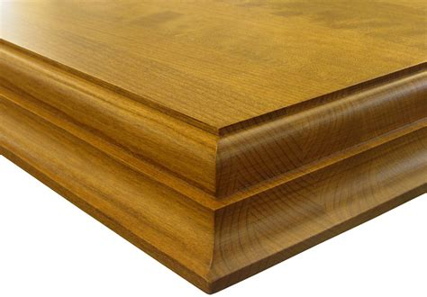 Wood Countertop Edge by Medium Ogee Edge Wood Countertops