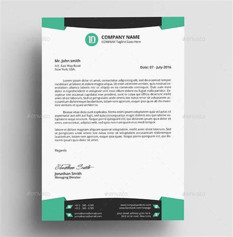 professional letterhead templates psd ai pages