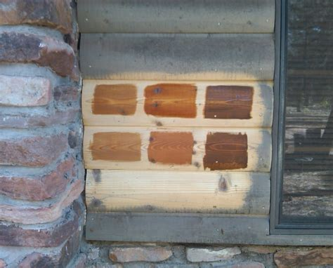 Log Cabin Wood Stain by Staining Options For Your Log Home