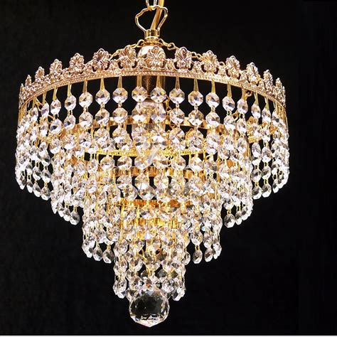 Chandelier Lights Fantastic Lighting 4 Tier Chandelier 166 10 1 With Crystal