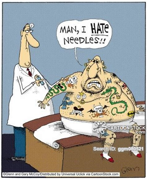 tattoo cartoon jokes tattoo cartoons and comics funny pictures from cartoonstock