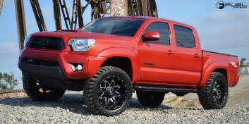 Wheels Toyota Truck Get Lethal With This Toyota Tacoma On Fuel Wheels
