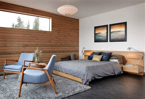 schlafzimmer holzwand industrial bedroom ideas photos trendy inspirations