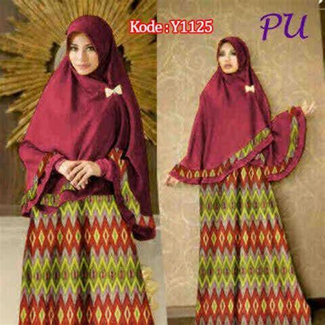 Gamis Batik Rang Rang gamis bergo y1125 songket rangrang baju muslim batik