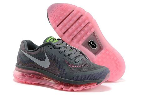 nike womens running shoes 2014 nike air max 2014 womens running shoes grey pink factory