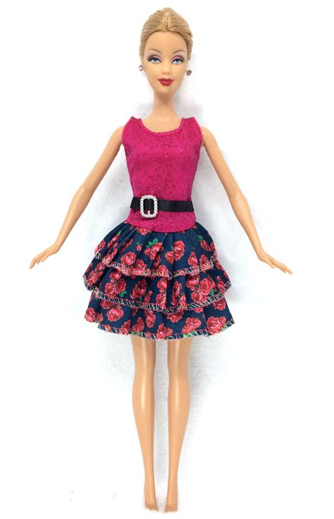 Lovely Handmade Fashion Clothes Dress For Doll Costu nk 2016 newest doll dress beautiful handmade clothestop fashion dress for noble
