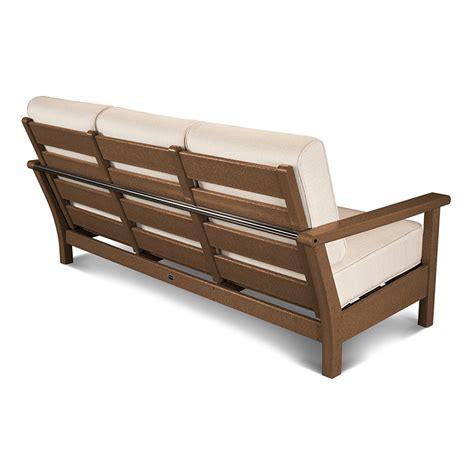deep seat sofa sale polywood outdoor furniture harbour deep seating sofa