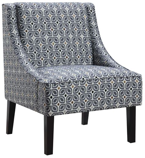 blue pattern accent chair tinted blue pattern accent chair from coaster 902604