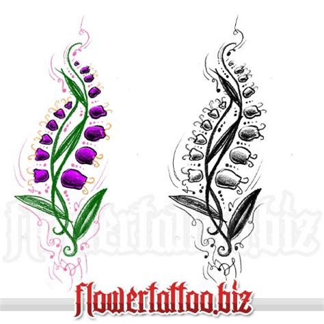 lily of the valley tattoo designs of the valley ideas lilies