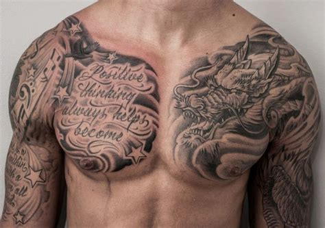 best chest tattoos for men on chest for concept 187 a to z