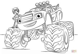 monster truck coloring pages kids az coloring pages