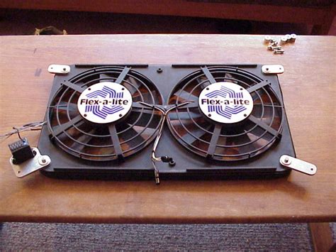 electric radiator fan kit electric fan conversion