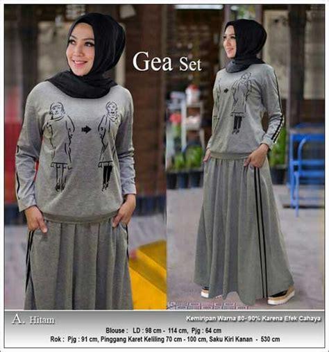 Kaos Saku Casual Crs 91 supplier busana muslim casual bahan kaos tc