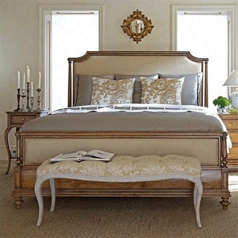 stanley furniture arrondissement upholstered bedroom set stanley arrondissement queen upholstered bed in sunlight