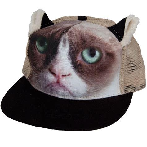 Trucker Cats Hat 1 grumpy cat trucker hat buy gifts