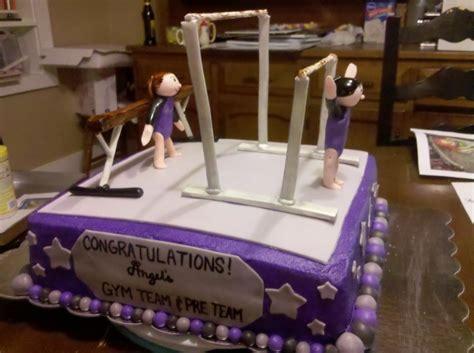 gymnastics cake cake decorating community cakes we bake
