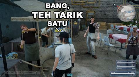 final fantasy xv  malaysian culture   game
