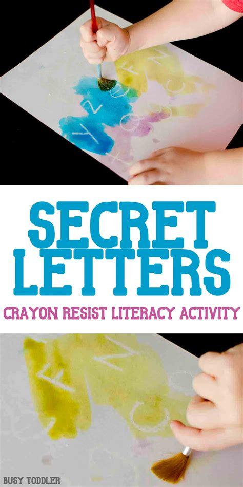 secret activity secret letters activity busy toddler