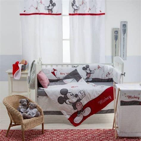 disney gray mickey crib bedding set 187 petagadget