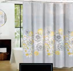 gray yellow shower curtain buy cynthia rowley eloise fabric shower curtain yellow