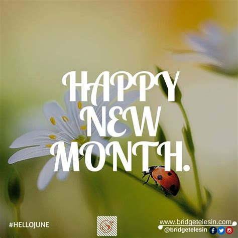 Happy New Month Of June Images happy new month hello june bridget elesin speaks