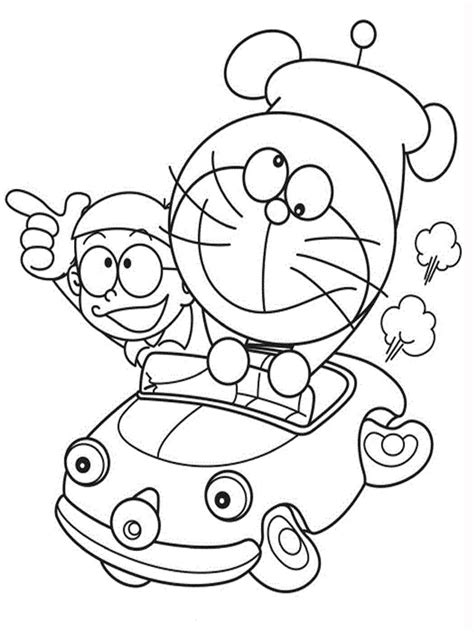dora emon coloring page doraemon coloring pages realistic coloring pages