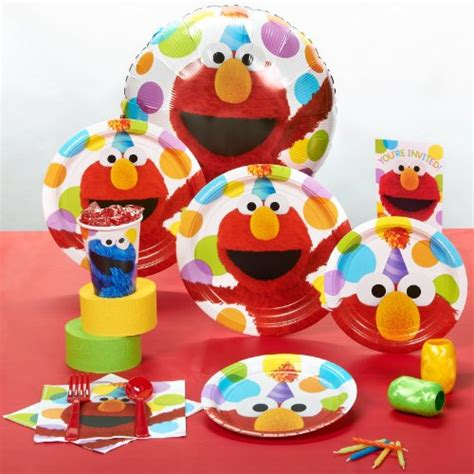 sesame street elmo birthday party supplies decoration ideas