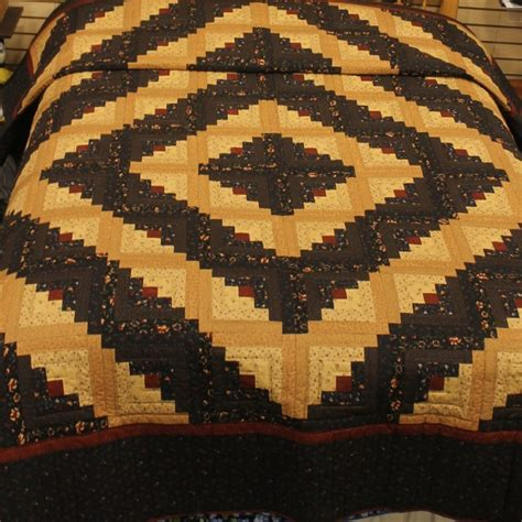log cabin quilt log cabin quilts for sale handmade in lancaster pa