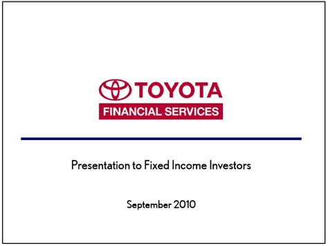 Toyota Motor Credit Corporation Toyota Motor Credit Corp Form 8 K Ex 99 1 Exhibit 99