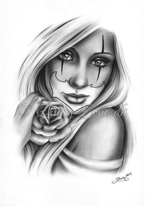 lady and the tr tattoo 138 best images about clowns on chicano