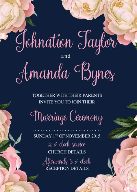 Make Invitations Wedding by Printable Wedding Invitation Templates Wedding
