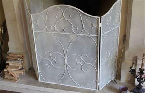 metal shabby chic screen guard fireplace ebay