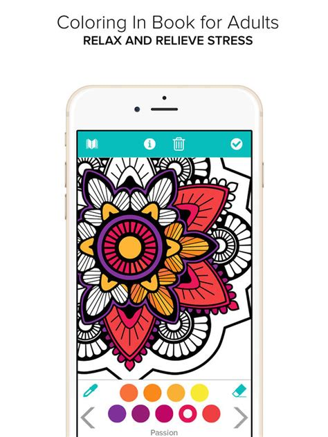 coloring books for adults app app shopper coloring book for adults color mandala books