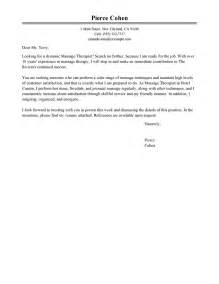 best massage therapist cover letter examples livecareer
