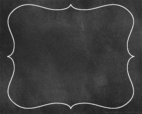 Free Chalkboard Borders Clip