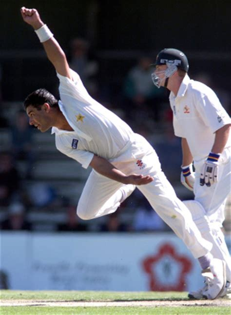 the art of swing bowling waqar younis fast bowling is about imposing yourself on