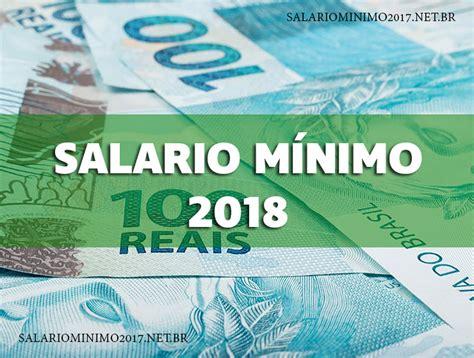 salrio mnimo 2016 novo valor do salario minimo sal 193 rio m 205 nimo 2018 qual 233 o valor descubra j 193