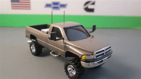 custom 96 dodge ram 1 64 custom 96 dodge ram 2500 4x4 before after
