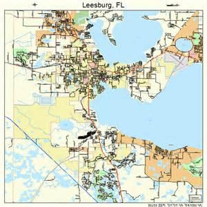 leesburg florida map 1239875