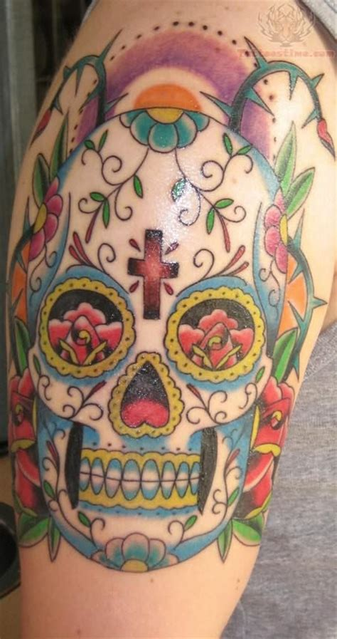 mexican sugar skull tattoo designs best mexican design