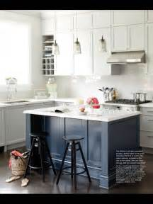 Blue Kitchen Islands by Blue Kitchen Island Blue In The Kitchen Pinterest