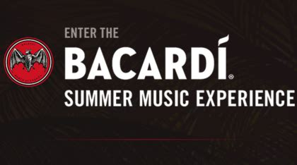 Bacardi Summer Music Sweepstakes - sweepstakes giveaways contests sun sweeps